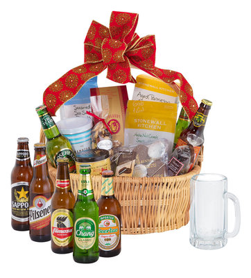 Import Beer Gift Basket